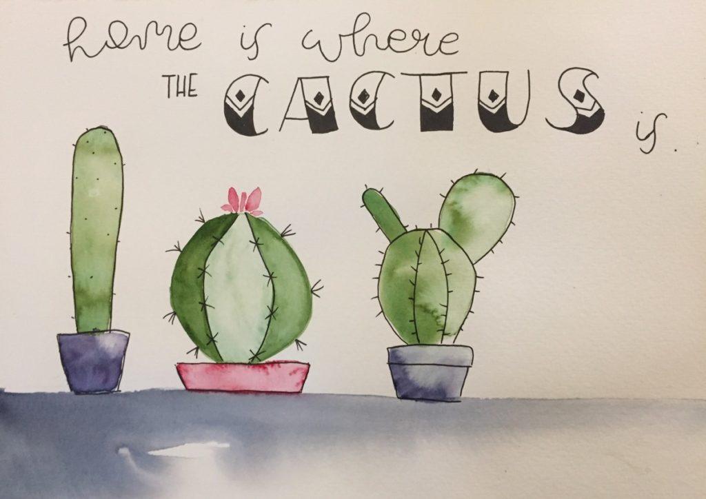 Kaktus-Spruch