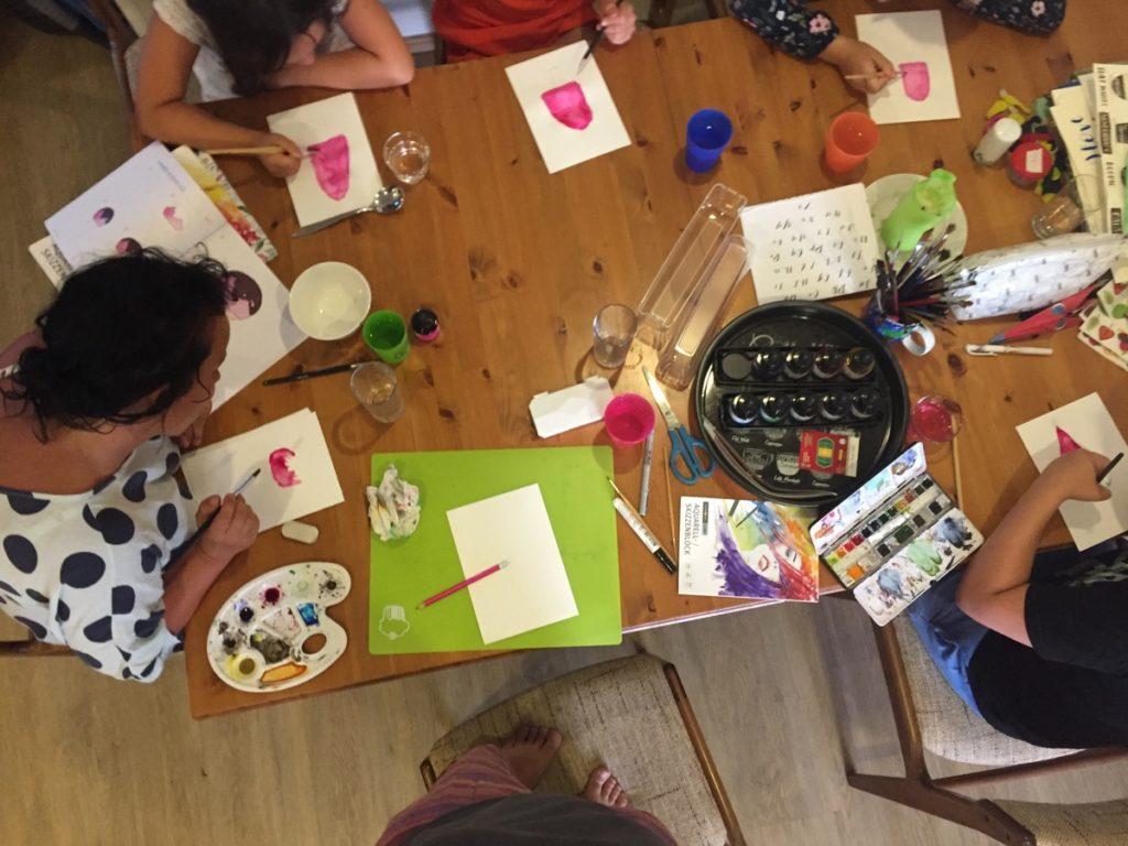 Watercolor ausprobieren