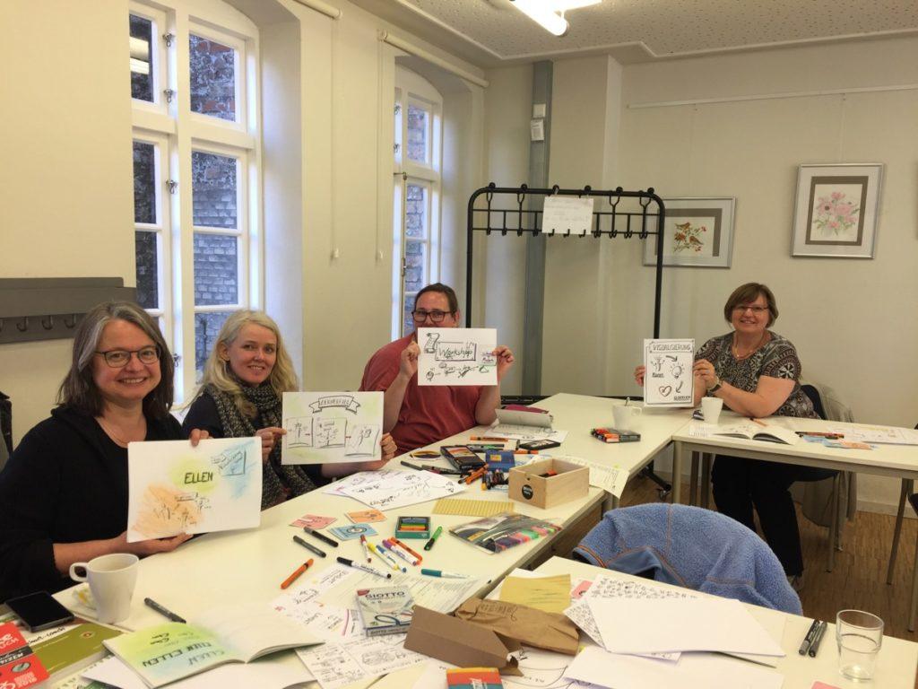 Workshop Sketchnotes für Ehrenamtliche