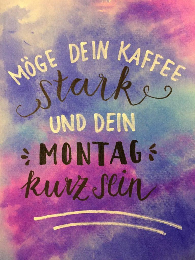Kaffee-Montag