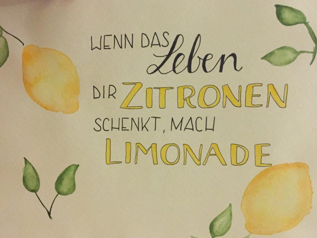 Zitronen-Spruch